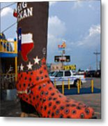 The Big Boot Metal Print