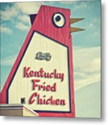 The Big Chicken Metal Print