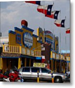 The Big Texan In Amarillo Metal Print