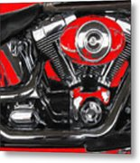 The Big Twin Cam Metal Print