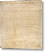 The Bill Of Rights. The First Ten Metal Print by Everett