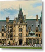 The Biltmore House Metal Print