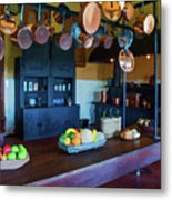 The Biltmore Kitchen Metal Print