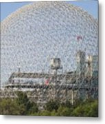 The Biosphere  Ile Sainte-helene Montreal Quebec Metal Print