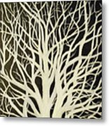 The Birch Tree Metal Print