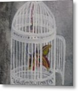 The Bird Cage Metal Print