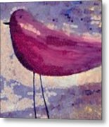 The Bird - K0912b Metal Print