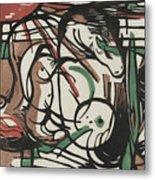 The Birth Of Horses  Geburt Der Pferde, 1913 Metal Print