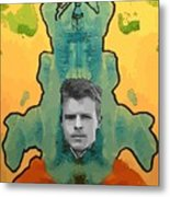 The Birth Of Rorschach The Inventor Of The Inkblot Test Metal Print