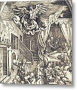 The Birth Of The Virgin Metal Print