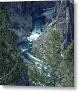 The Black Canyon Of The Gunnison Metal Print
