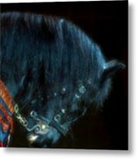 The Black Horse Iv Metal Print