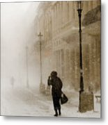 The Blizzard II Metal Print