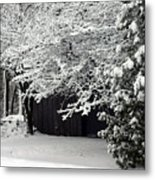The Blizzard Is Over Metal Print