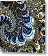 The Blue Diamonds Metal Print