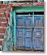 The Blue Door - India Metal Print