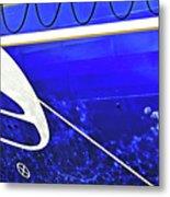 The Blue Ferry Metal Print