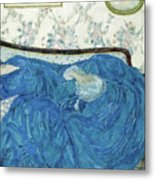 The Blue Gown, 1917  Metal Print