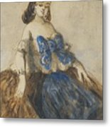 The Blue Ribbon Metal Print