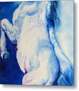 The Blue Roan Metal Print