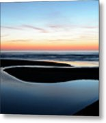 The Blue Zone California Metal Print