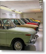 The Bmw Line Up Metal Print