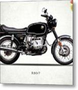 The R80 Motorcycle 1978 Metal Print