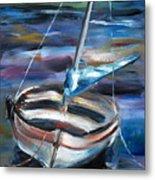 The Boat Metal Print