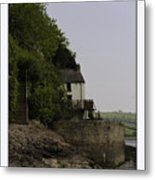 The Boathouse Metal Print