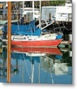 The Boats Of Sausilito Metal Print