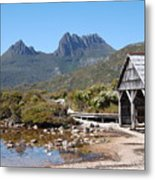 The Boatshed Metal Print