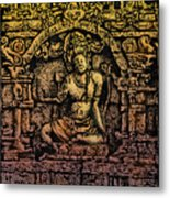The Bodhisattva Samantabhadra Borobudur Java Metal Print