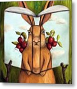 The Book Of Secrets 4-the Rabbit Story Metal Print