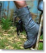 The Boot  Metal Print