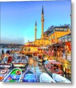 The Bosphorus Istanbul Metal Print
