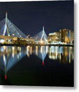 The Boston Bridge Metal Print