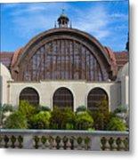 The Botanical Building Metal Print