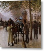 The Boulevards Metal Print