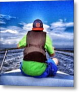 The Bow Rider Metal Print