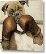The Boxer Metal Print
