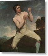 The Boxer Humphrie Metal Print