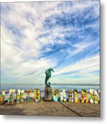 The Boy On The Seahorse Metal Print