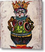The Boy Who Would Be King Metal Print