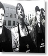 The Boys Are Back In Town Metal Print