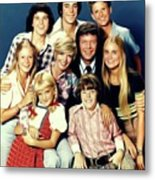 The Brady Bunch Metal Print