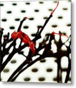 The Branches Naked By Wind And Rain. Metal Print