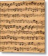 The Brandenburger Concertos Metal Print