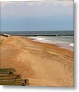 The Breakwater Metal Print