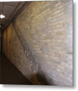 The Brick Wall Metal Print