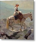 The Bridal Path Metal Print by Winslow Homer